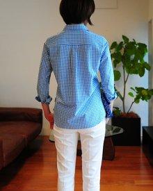 他の写真 (画像をクリックすると大きく見えます)2: コンフォートレディースシャツ