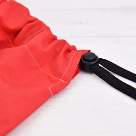 巾着,コードロック,コードストッパー,型紙,ソーイング,作り方