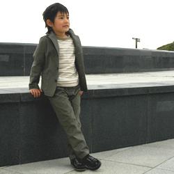 子供ジャケット作品例