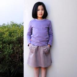 ガーリッシュスカート着用例