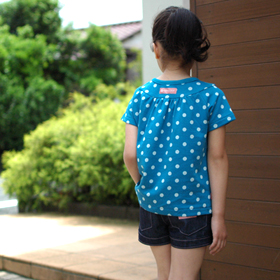 Tシャツ 女の子 型紙