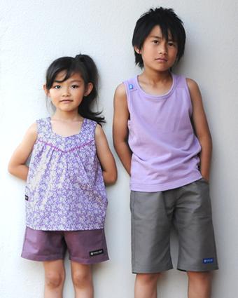 型紙,作り方,パンツ,子供服