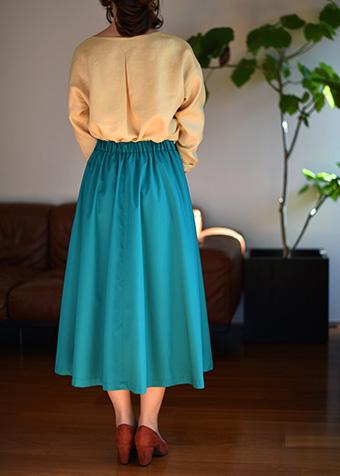 大人服,レディース,スカート,フレア,型紙,作り方