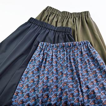 大人服,レディース,マキシ丈,スカート,Tシャツ,無料,型紙,作り方