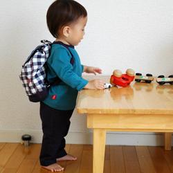 赤ちゃんモデル着用・型紙サンプル