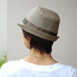 帽子 型紙 婦人 バックショット