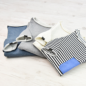 メンズ,プルオーバー,型紙,作り方