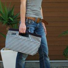 他の写真 (画像をクリックすると大きく見えます)3: ハンドルトートバッグ