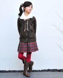 他の写真 (画像をクリックすると大きく見えます)1: ワンウェイプリーツスカート