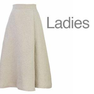 画像1: セミフレアスカート