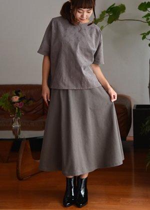 画像2: セミフレアスカート