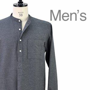 画像1: バンドカラーシャツ
