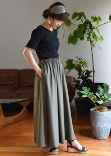 他の写真 (画像をクリックすると大きく見えます)1: マキシスカート(無料型紙)