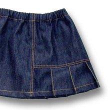 他の写真 (画像をクリックすると大きく見えます)2: バックプリーツスカート