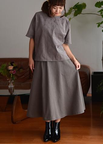 冬のスカート