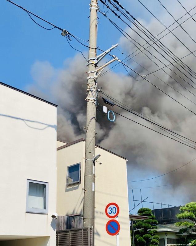 火事でした…