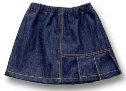 子供服型紙スカート