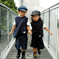 子供服型紙イメージ