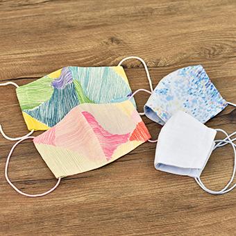 マスク,無料型紙,ソーイング,作り方