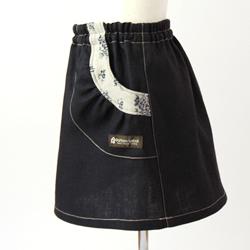 ガーリッシュスカート側面画像