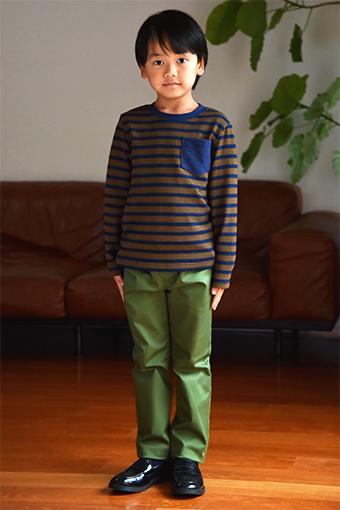 子供服,パンツ,型紙,作り方