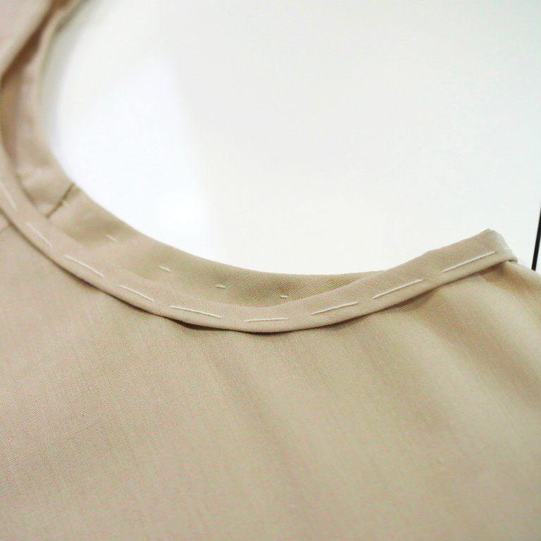 レディース,布帛Tシャツ,型紙,作り方