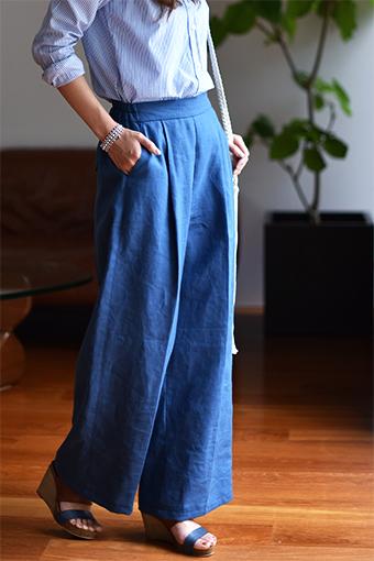 大人服,レディース,パンツ,型紙,作り方