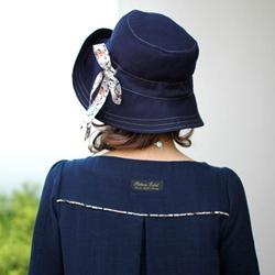 ワンピース 帽子 型紙