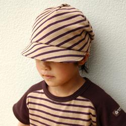 ハンドメイド 帽子 作品例