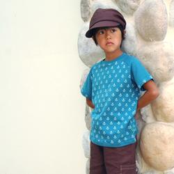 子供 バッグ 帽子 コーディネイト