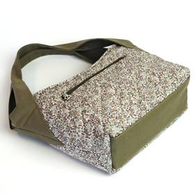 トートショルダーバッグ 型紙